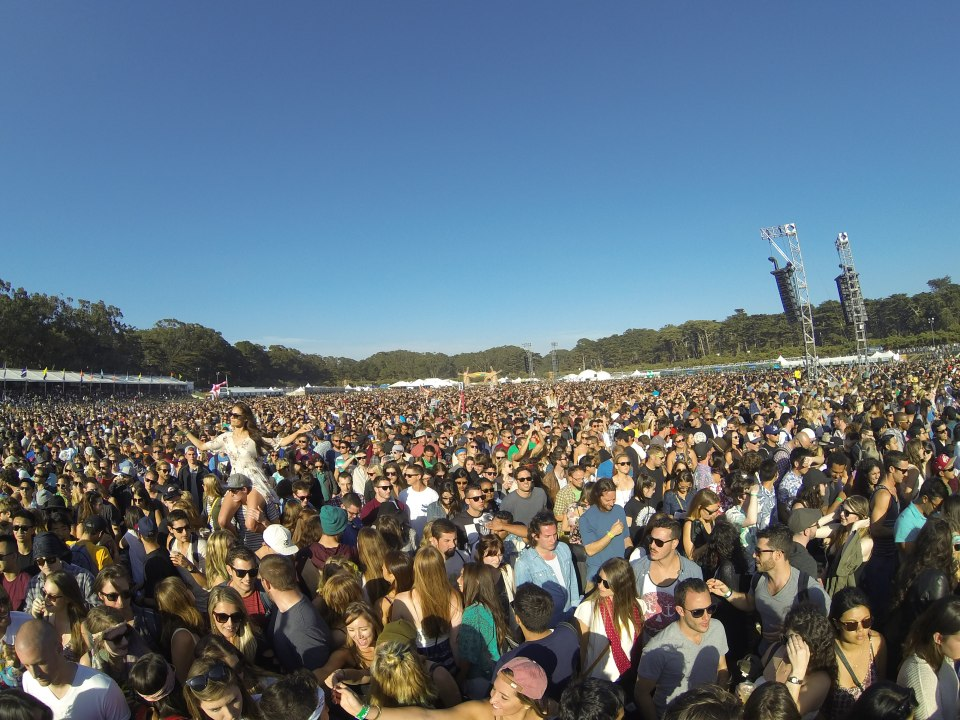 Friday crowds at Outside Lands 2014