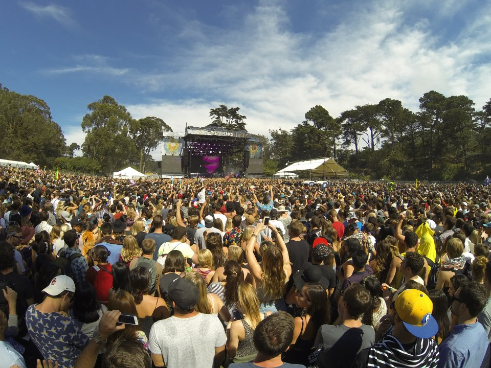 Twin Peaks stage at Outside Lands 2014