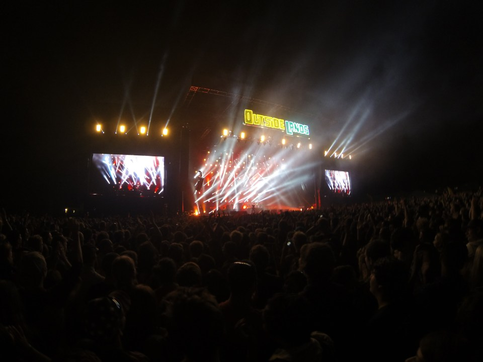 Catching the Killers for an amazing ending to Outside Lands 2014
