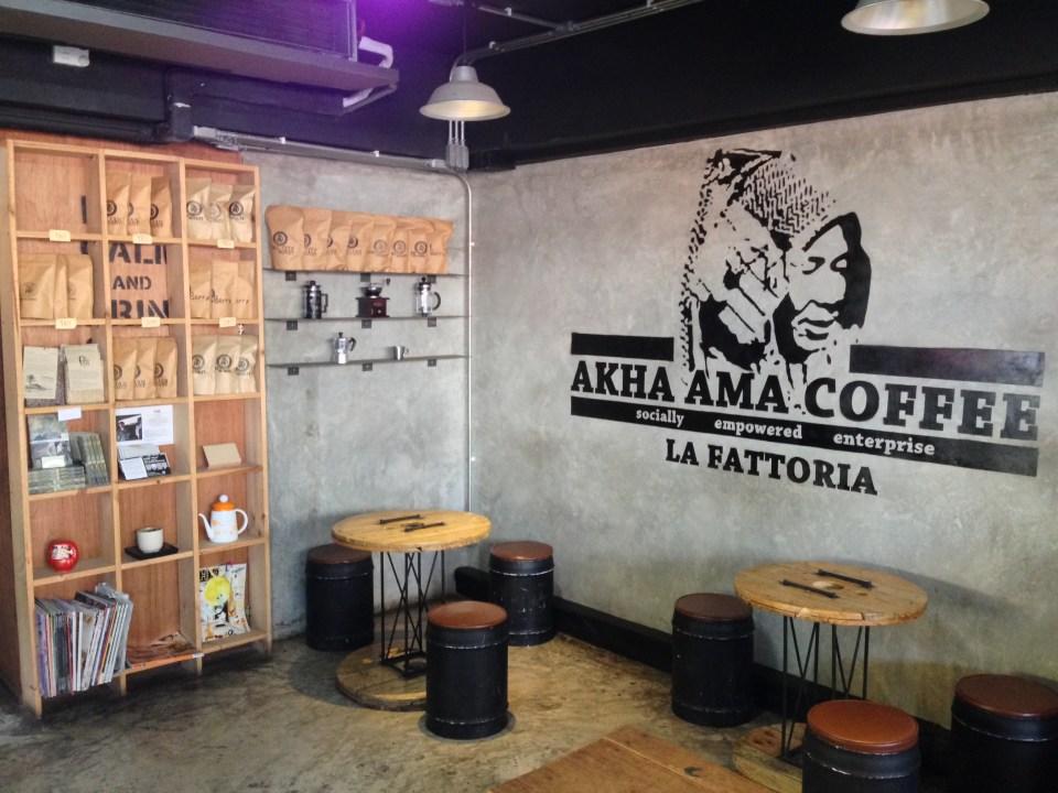 Akha Ama Coffee at Chiang Mai