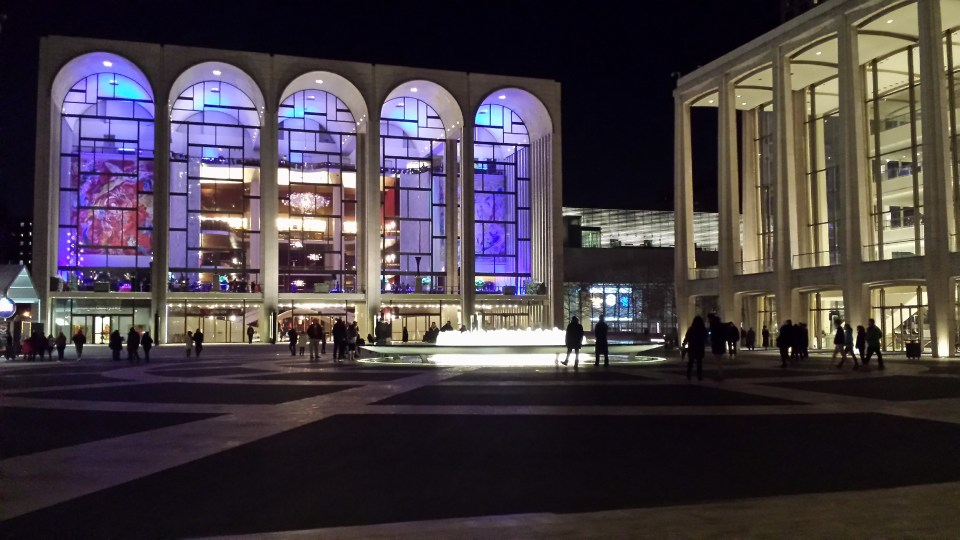 The beautiful Metropolitan Opera House at Lincoln Center in New York (photo credit: lil' bro Alan)
