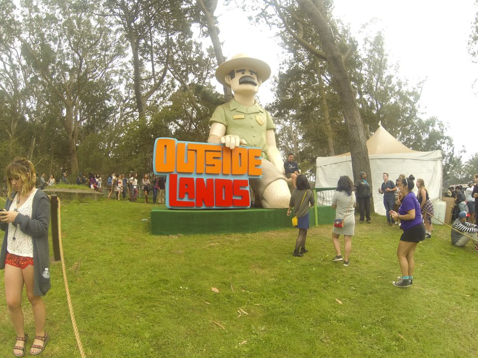 Ranger Dave at Outside Lands 2015