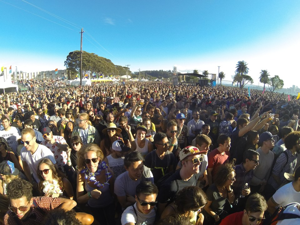 Crowd at Run the Jewels at Treasure Island Music Festival 2015