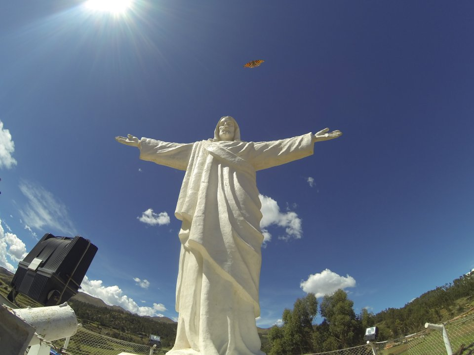 Cristo Blanco in Cusco, Peru