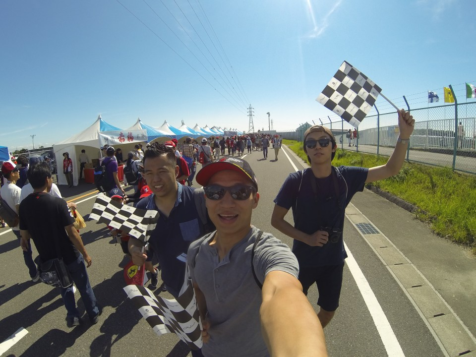 Circuit Grounds Formula 1 Japanese Grand Prix