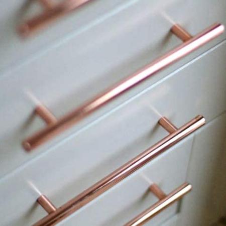copper kitchen hardware