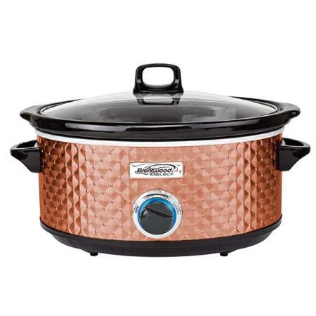 copper kitchen slow cooker