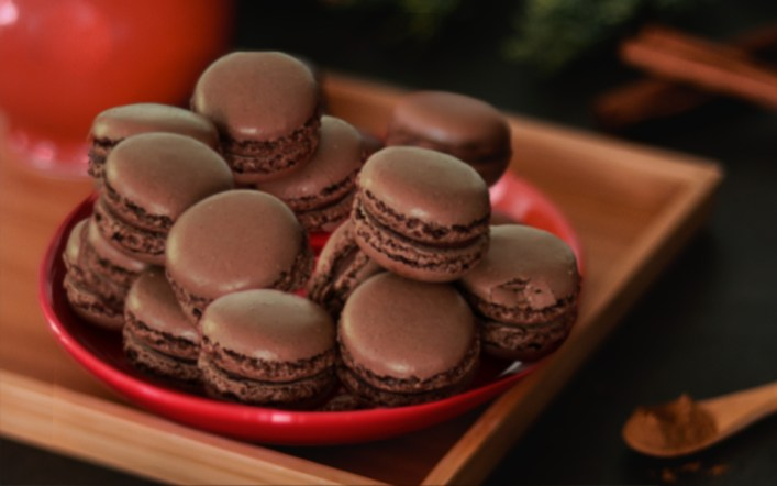 Double Chocolate Macarons Recipe