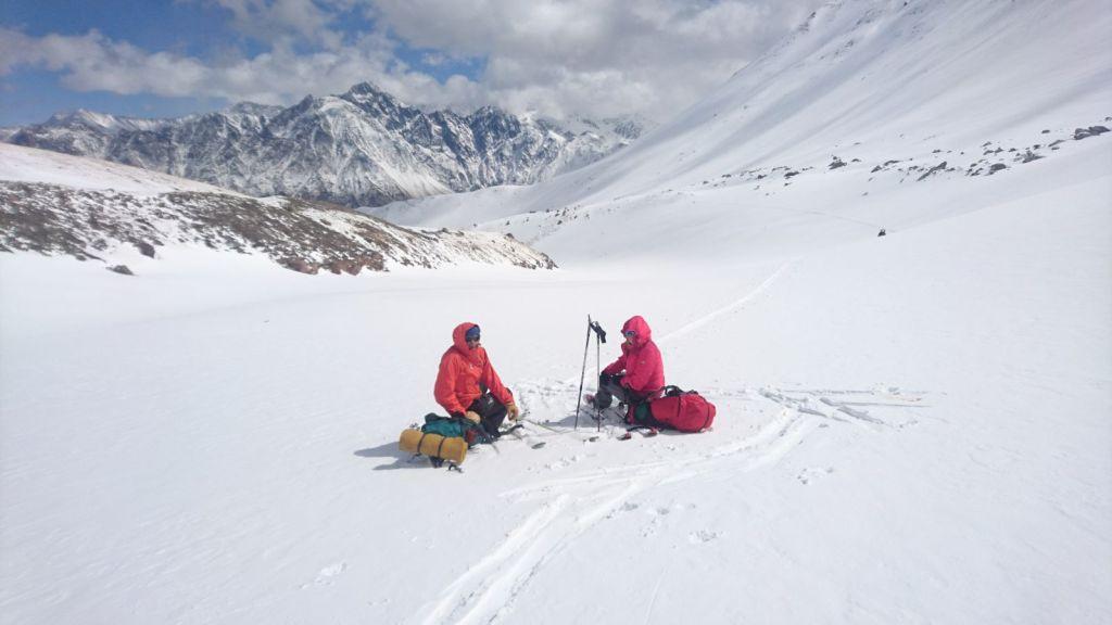 Ski de rando dans le Caucase Géorgien