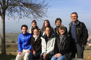 l'équipe de la Pèlerine