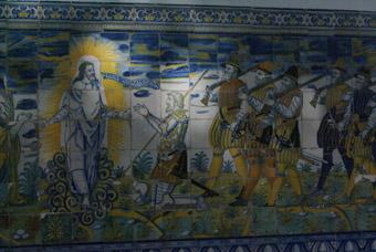 CHARLES QUINT SUIVI DE SON ARMEE DEVANT LE CHRIST