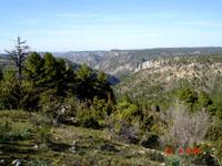 vue de l'Alto de Rabadan