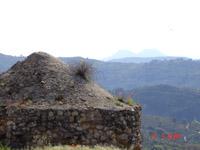 Budia: vue sur les Tetas de Viana