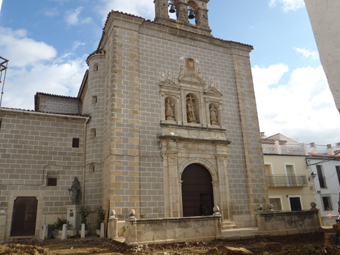 Eglise Nuestra Senora de la Asuncion à Serradilla