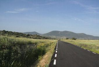 La route vers la Sierra de Estrella