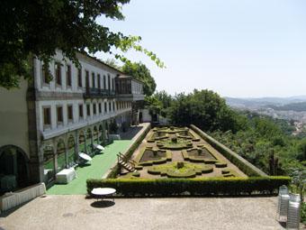 Jardins de l'hôtel Elevador