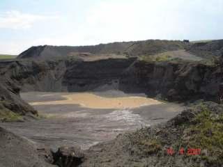 La mine de basalte