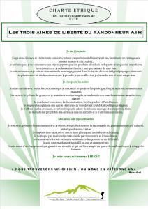 Safety Tips pour une bonne randonnée - Charte-ATR
