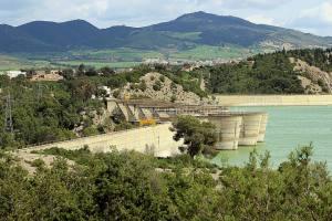 Randonnée à Djebel Ghfai au Kef - barrage de Mallègue