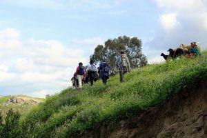 Randonnée à Djebel Ghfai au Kef - au bord de oued Mallègue