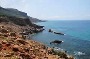 Circuit randonnée el Haouaria - bateau