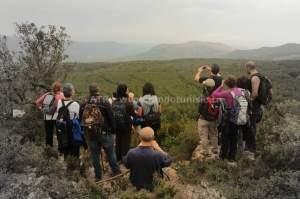 Circuit randonnée Djebel Tabbouba - Vue panoramic