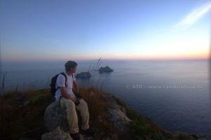 Circuits randonnée La Galite - Vue sur les îles des chiens