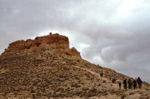Circuit randonnée Zammour - vers le sommet Mzenzen