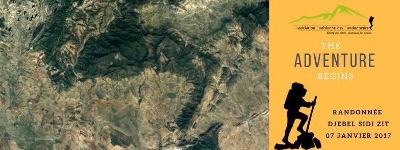 randonnée Djebel sidi Zit