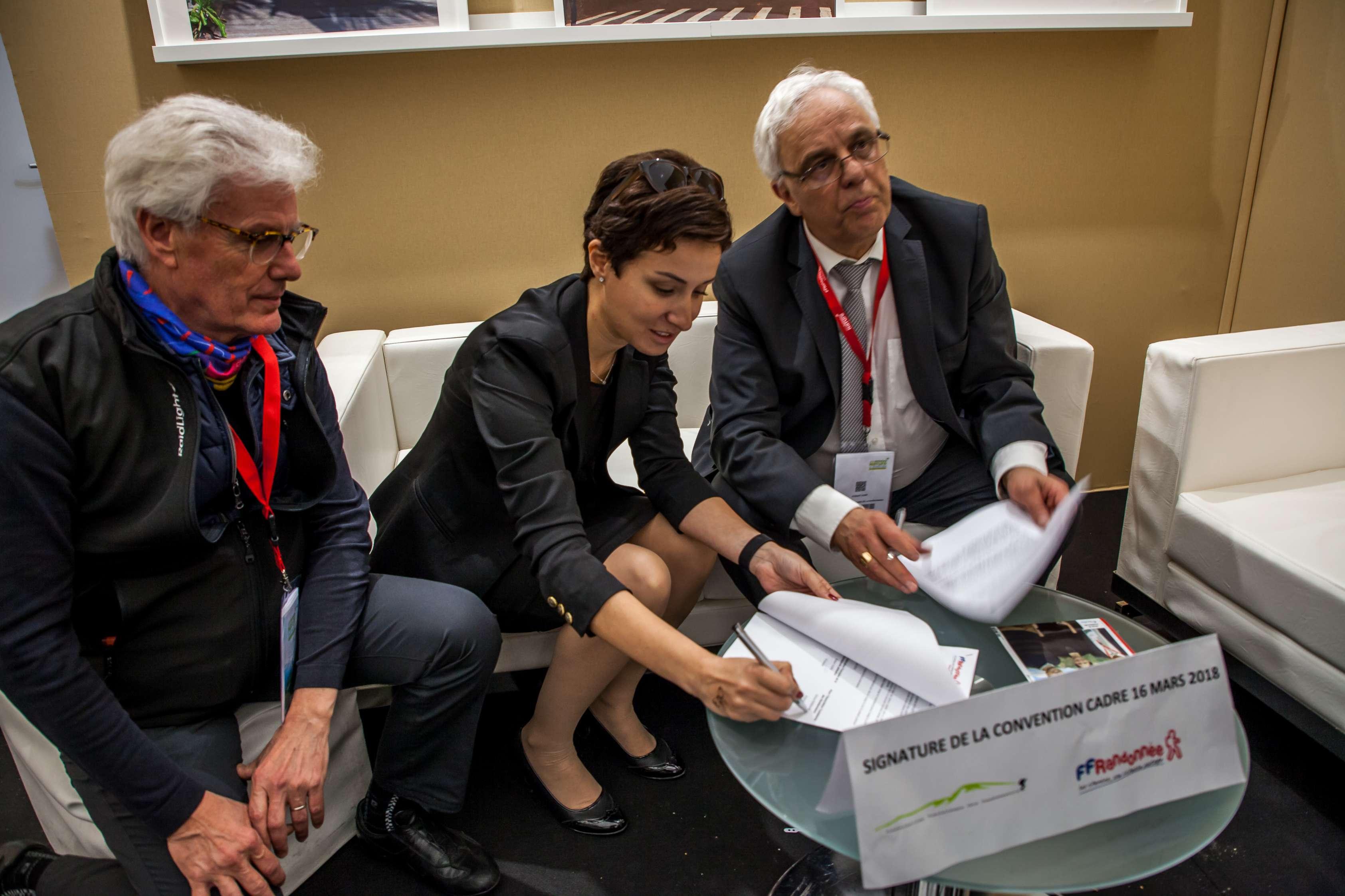 signature protocole de coopération