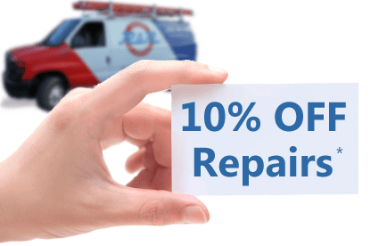 Schedule Service - 10% Off Coupon - HVAC Repairs