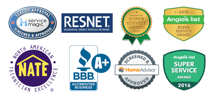 HVAC Accreditations & Awards
