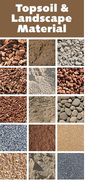landscaping materials - topsoil
