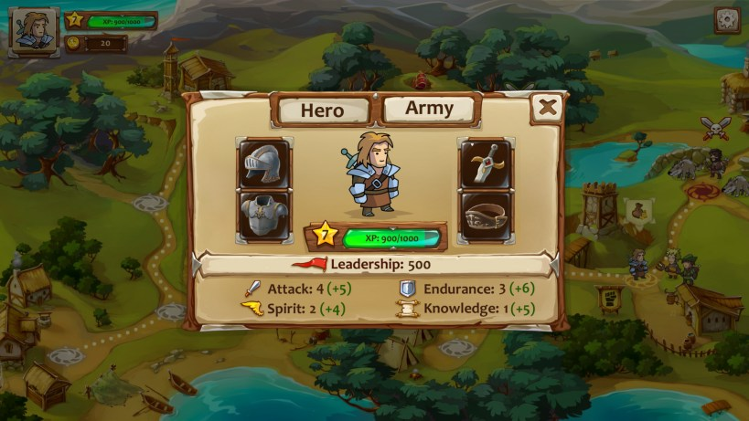 Braveland character