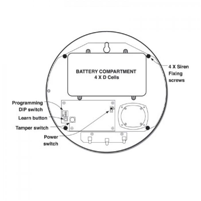 Yale EF-KIT2-DC1X2 Alarm Kit with 2 Free Dummy CCTV Cameras