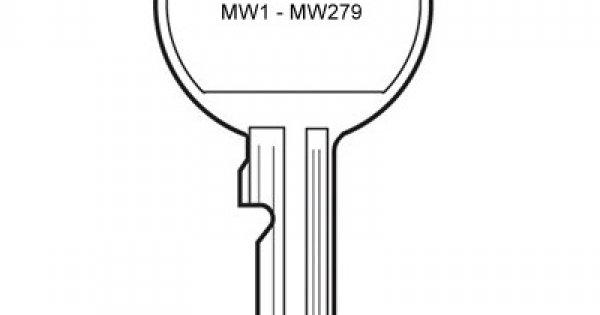 Argosy Locking Garage Handle Key MW
