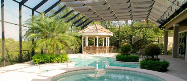 landscaping pool in southwest
