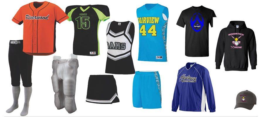 team sport apparel spirit
