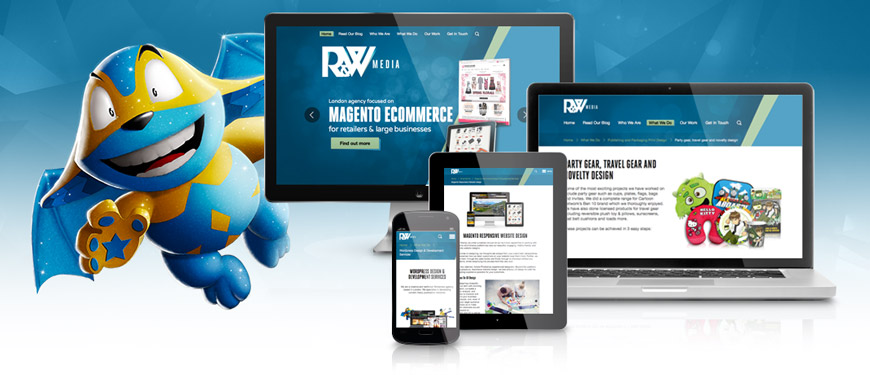 R & W Media Welcome to our new website