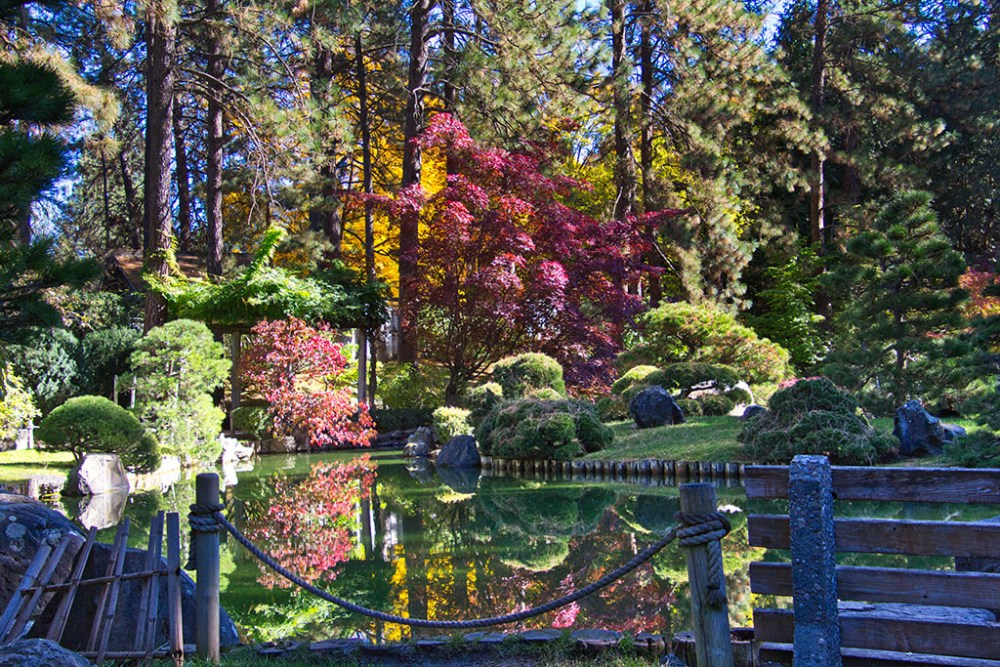 Japanese Gardens, Manito Park, Spokane, Washington