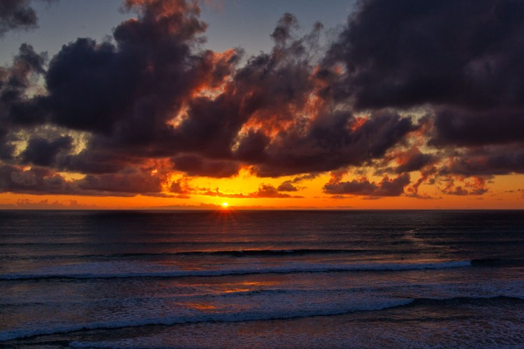 Sunset in Del Mar, California