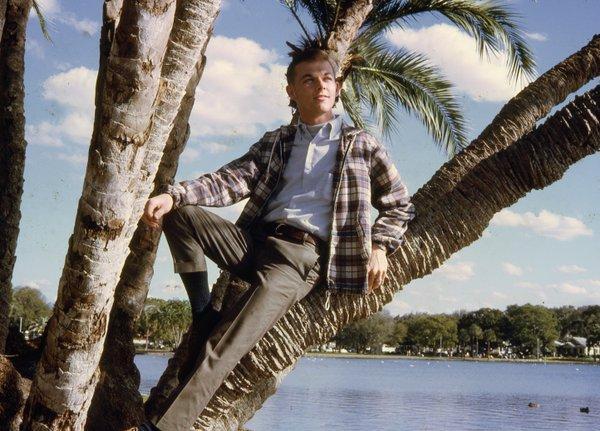 Jimmy Casadevall posing for a modeling portfolio.