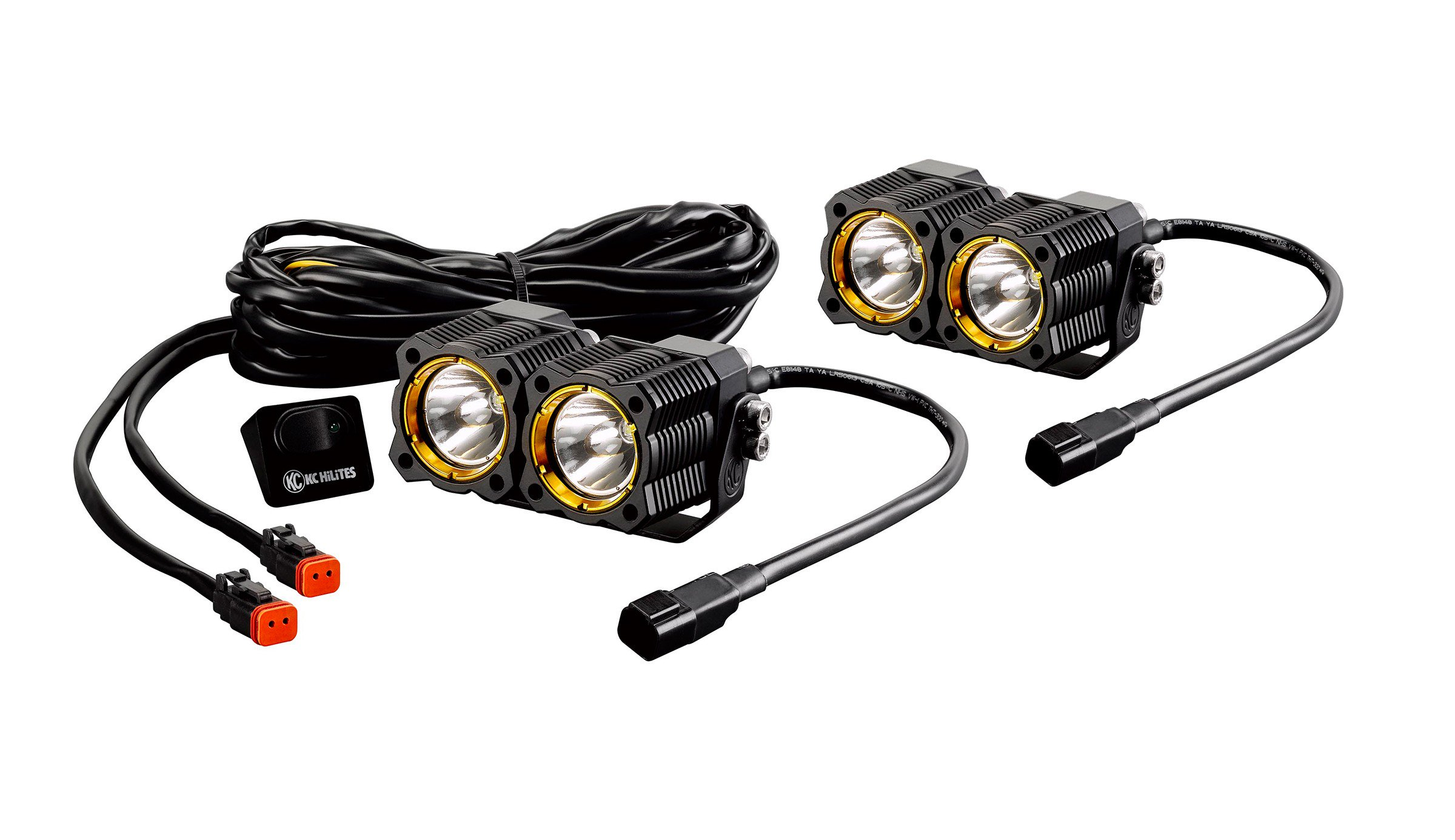 KC Hilites FLEX™ LED Dual Pair Pack System (PR)