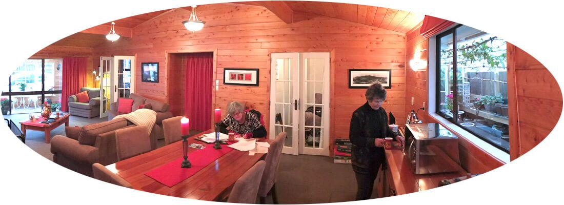 Kitchen area Ranfurly Cottage