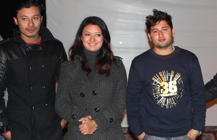 gaurav, barsha and nirajan