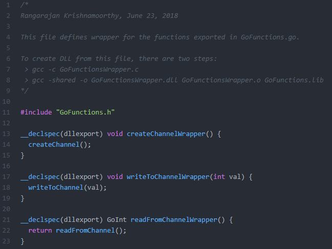 Wrapper Functions