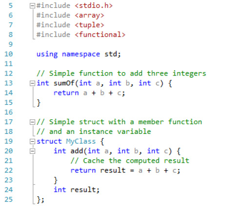A Simple Function and A Class