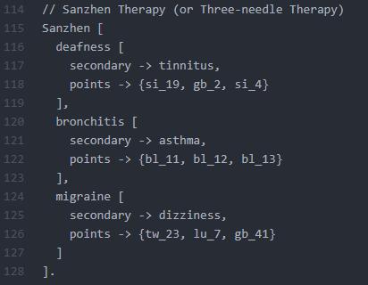 Sanzhen Therapy