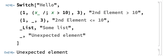 Switch Statement (Contd.)