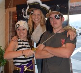 The Three Buccaneers! Katie, Katrina and Joe. Thanks for the help!